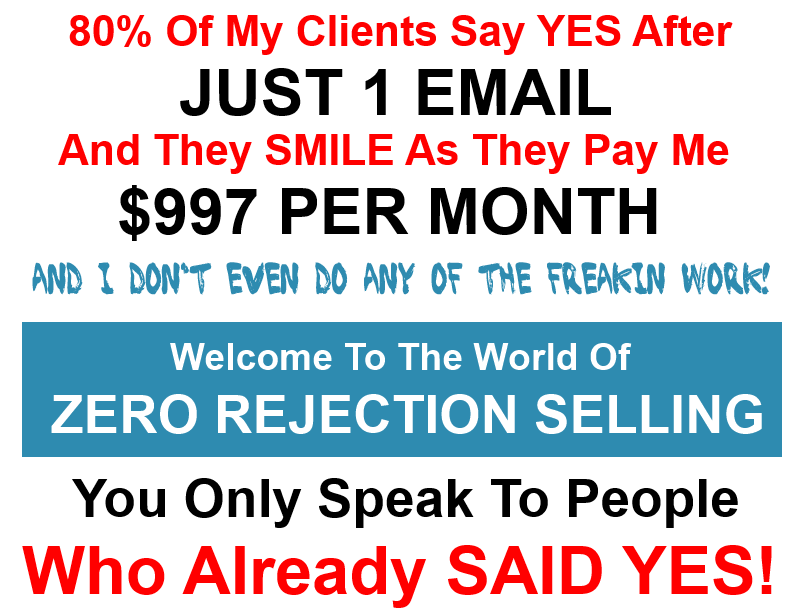 My Clients Pay Me $995 Per Month After Just One Simple Email