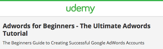 Adwords for Beginners - The Ultimate Adwords Tutorial