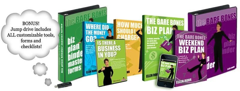 Ellen Rohr – The Bare Bones Biz Plan