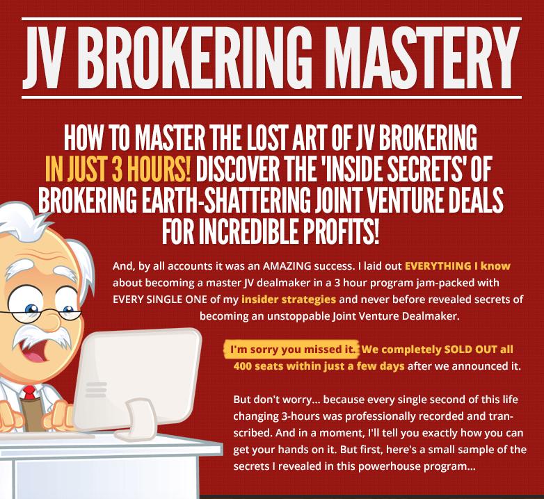 JV Brokering Mastery