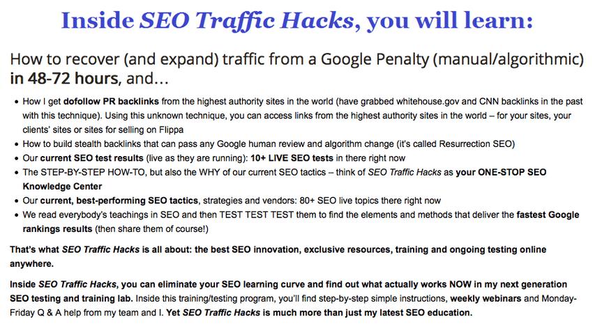 SEO Traffic Hacks – Terry Kyle2