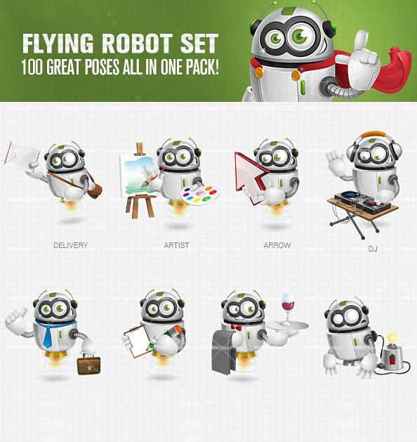 flying_robot_toon_character_ultimate