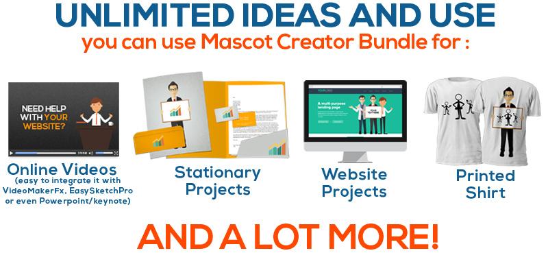 Mascot Creator Bundle + OTO + Bonus h2