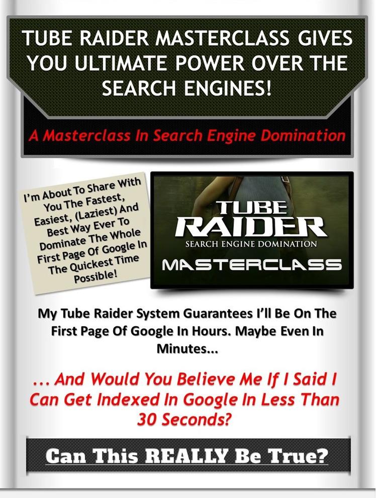Tube Raider Masterclass