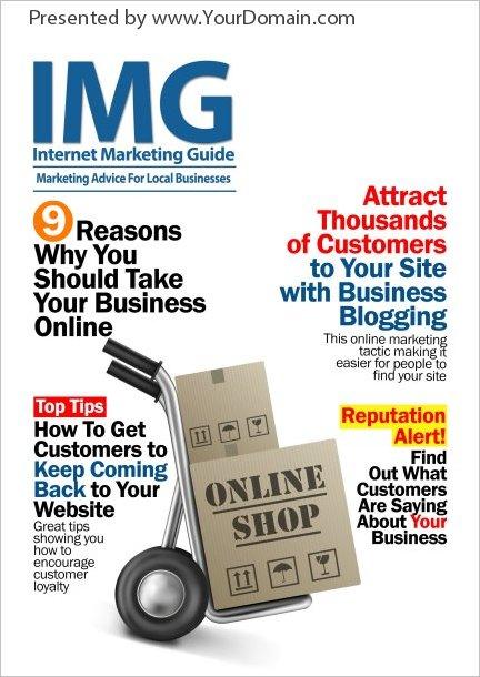 IMG Magazine 2014 Edition- Monthly PLR Offline Marketing Magazine